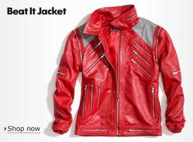 554ab6085 Limited Edition Michael Jackson BEAT IT & THRILLER Jackets   New ...