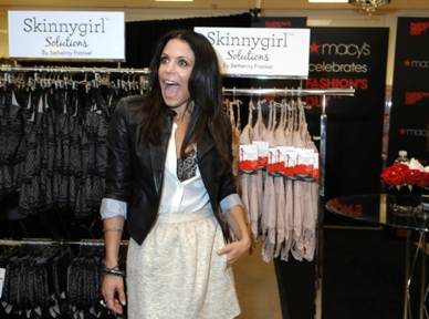 38c6c5e8da Here s Bethenny Frankel kicking off fashion week at Macy s for FNO with her Skinnygirl  Solutions ...