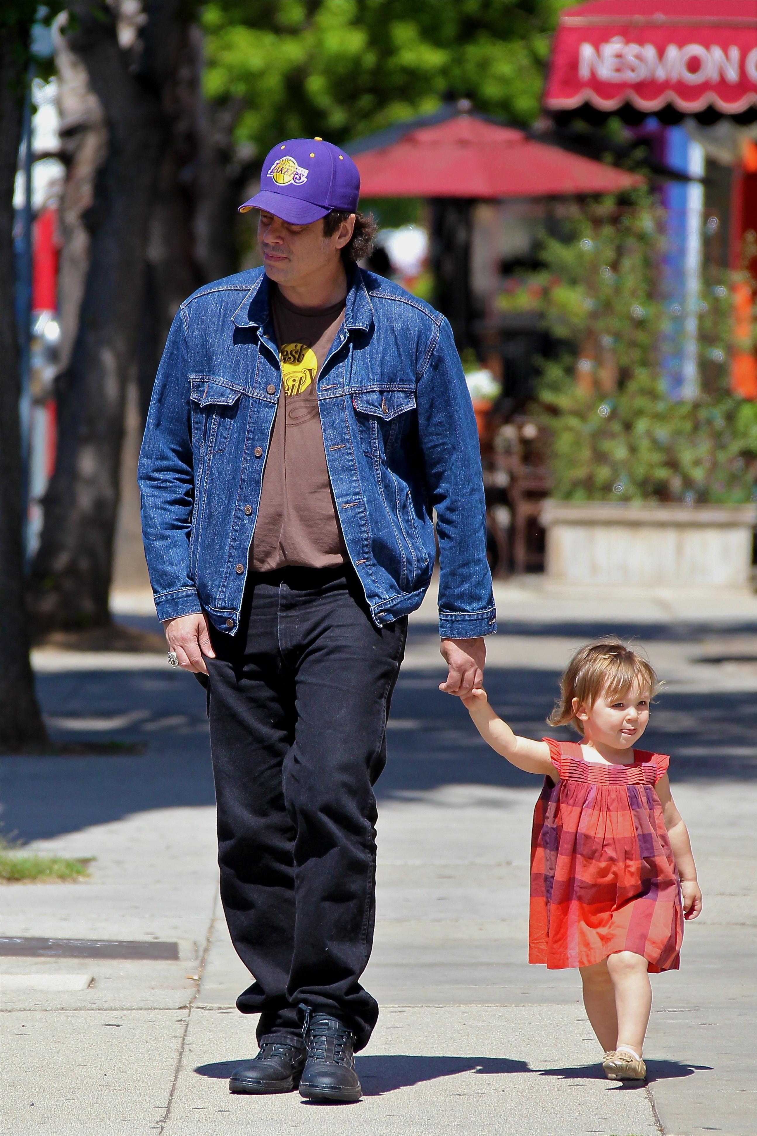 Benicio del Toro & Delilah, Daddy's Little Girl | New York ...