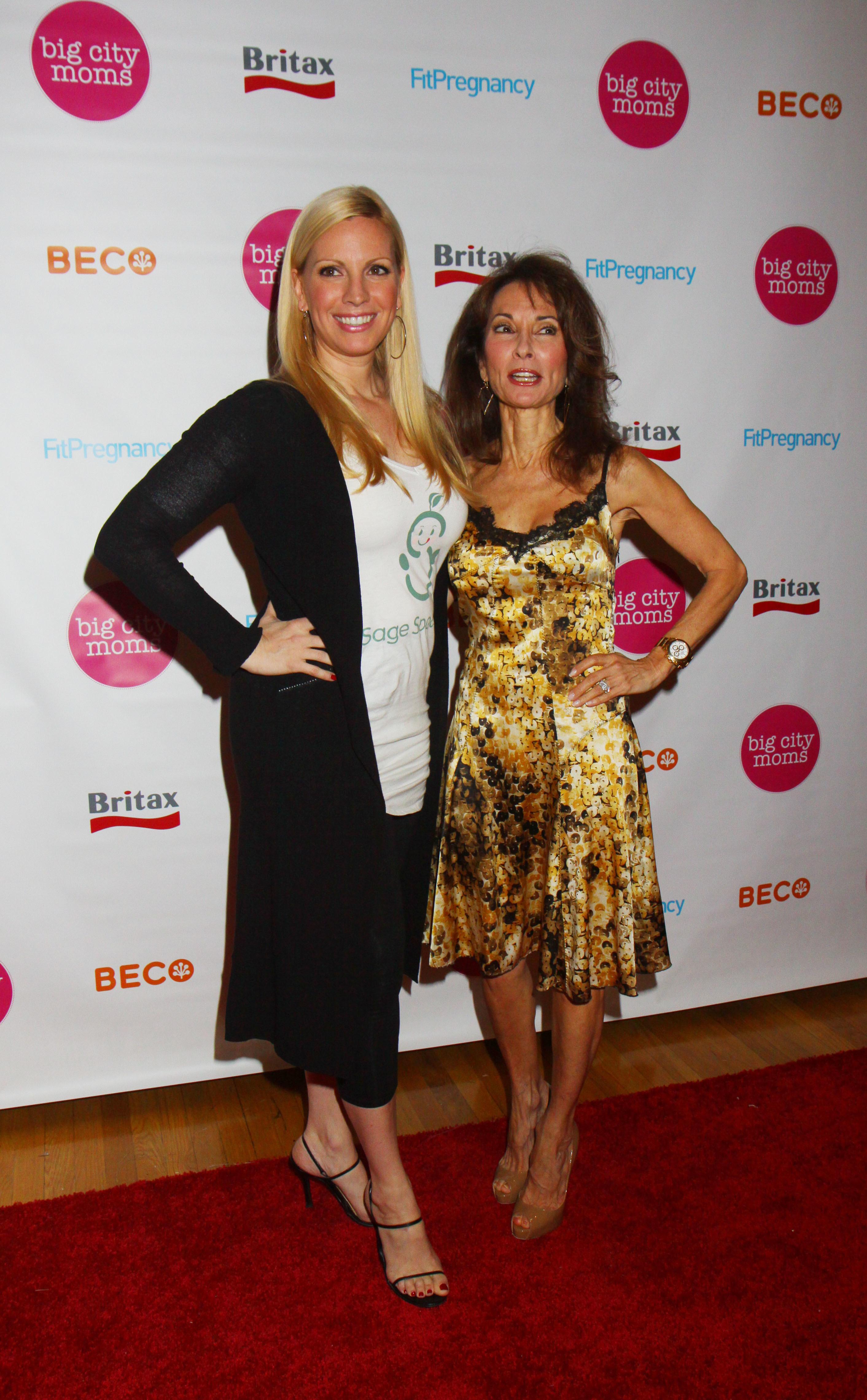 Susan Lucci Daughter Liza Huber At Big City Moms Biggest Baby