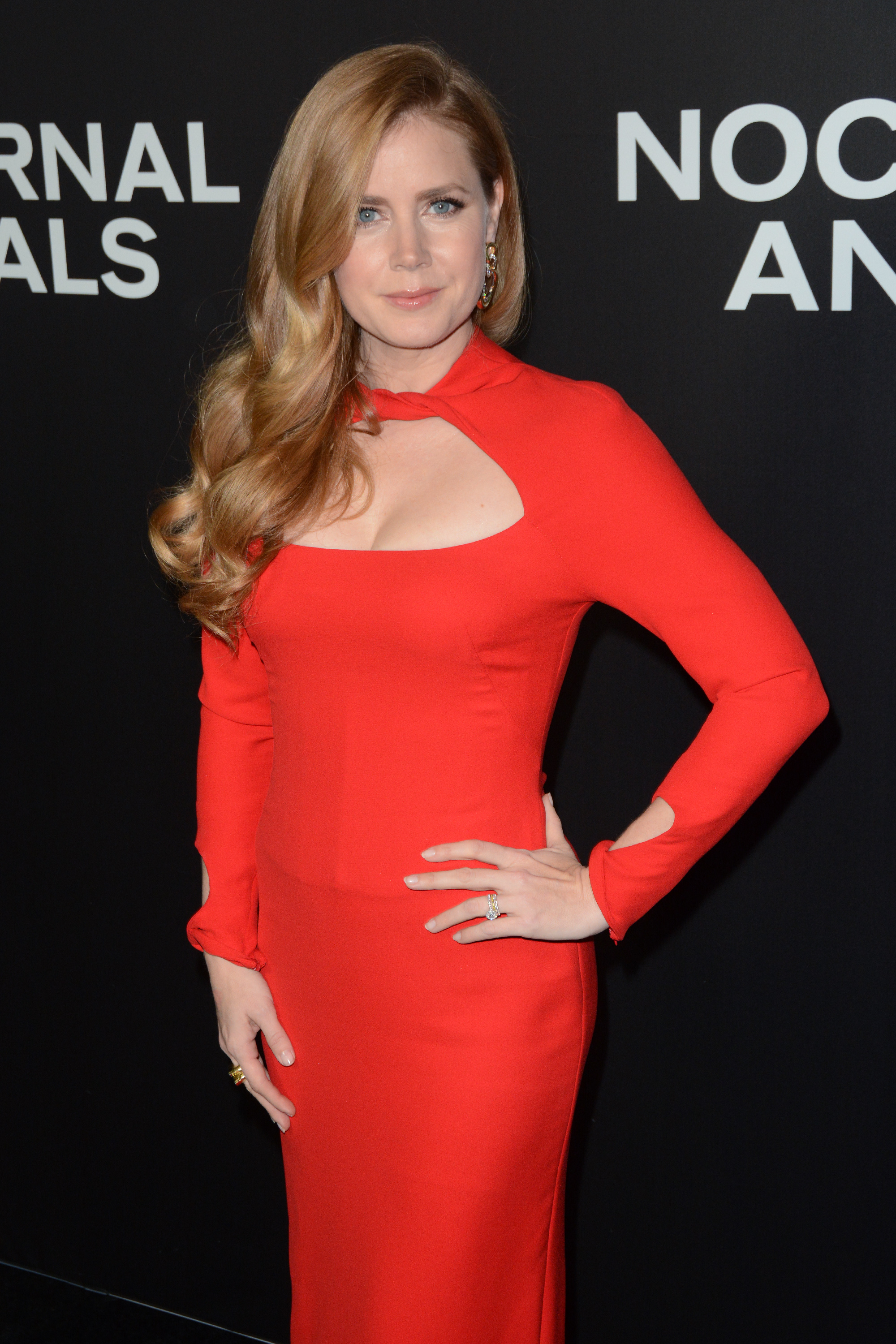 Amy Adams Nude In Nocturnal Animals red hot amy adams premieres nocturnal animals | new york
